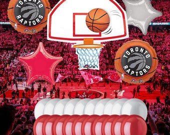 Toronto Raptors 25 Piece Balloon Set