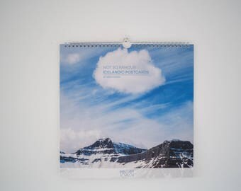Not So Famous Icelandic Postcards - Calendar 2018 | Iceland Photography