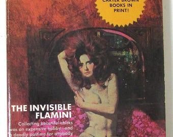 PULP COVER 1955 KITTY Rosamond Marsahll Sexy Redhead