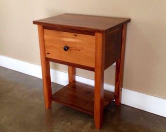 Shaker Nightstand reclaimed wood