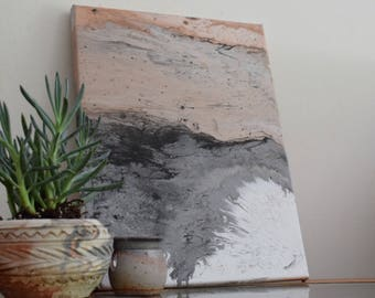 Alemanni, Fluid Acrylic Marble Painting