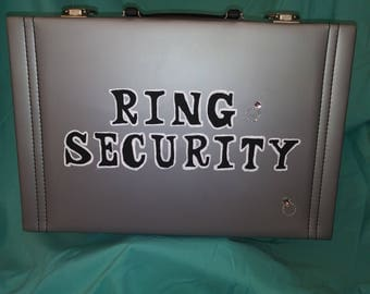 Ring Bearer brief case - Ring Security