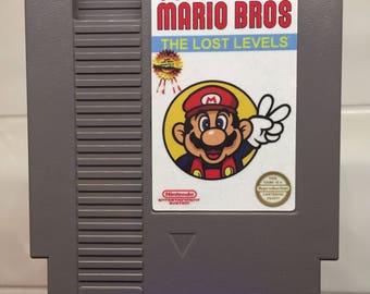 Super Mario Bros: The Lost Levels (AKA, Super Mario Bros 2 JP) CHALLENGING!