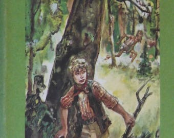Treasure Island, Robert Louis Stevenson, 1954, hardback children youth