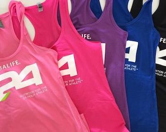 Herbalife 24 Racerback Tank,  Wellness Coach tank top, herbalife tank top, herbalife shirt for women, 24 hour athlete tank custom