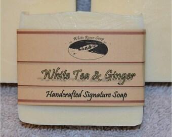 Signature:  White Tea & Ginger