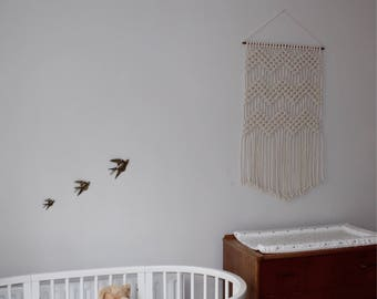 """Macramé Wall Hanging 