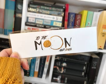 To The Moon and Back - Bookmark