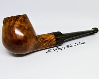 """BRIAR Pipe """"Volcano""""/Brier pipe/Briar wood pipe/Handcrafted pipe/Tobacco Smoking pipe/Handmade wooden pipe/Italy Briar/Only 1 available"""