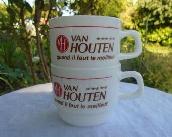 """Van Houten chocolate cup""""advertising mugs"""
