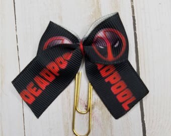 Deadpool Bow Paperclip