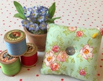 Tilda fabric pincushion