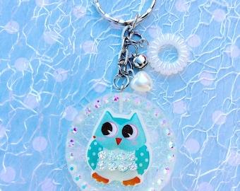 Keychain OWL Resinanhänger