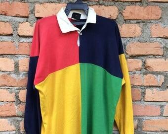 Vintage Canterbury Tshirt Loongsleeve Colourful/All blacks/canterbury sweetshirt/canterbury jacket