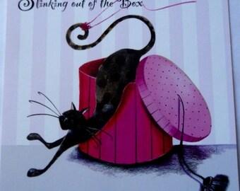 Marilyn Robertson Bertie art card