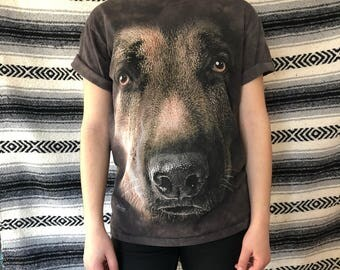 dog face tee