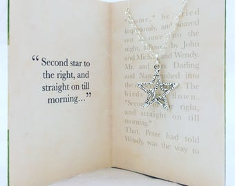 Peter Pan necklace. Second star to the right.