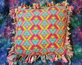 Pattern No sew Fleece Pillow