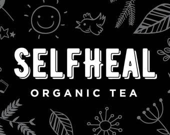 Selfheal organic tea Lemongrass & ginger