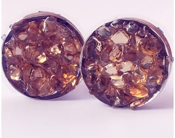 Amber stone plugs! Ear stretchers, ear guages, ear plugs.