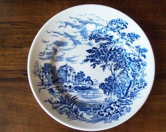"Vintage Countryside Wedgewood porcelain 5-3/4"" sauser plate  (#EV154)"