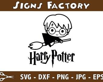 Harry Potter Svg Cut Files, Harry Potter Svg, Svg, Eps, Dxf, Png use with Cricut & Silhouette