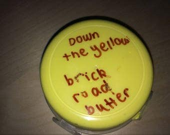 Down the yellow brick road butter