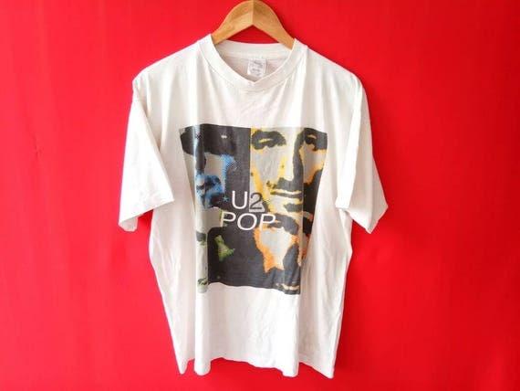 vintage U2 popmart band music concert xlarge tshirt S6ylW