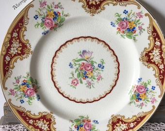 Empire decorative Vintage plate from the 1940's - very pretty