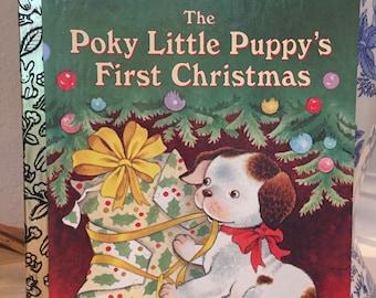 Little Golden Book - The Poky Little Puppy's First Christmas - 461-01 - Mint