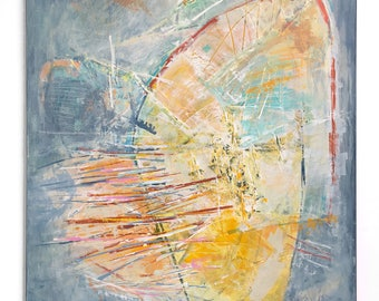 Original artwork, abstract, original art, abstract expressionism, colorful, art for interior, interior design, energetic, dark interior