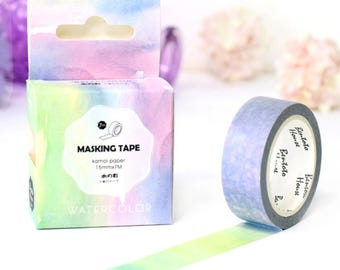 Water Color - Washi Tape
