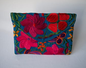 Hand Embroidered Clutch Purses