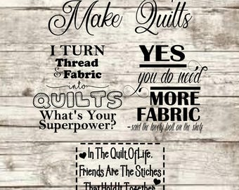 Quilt Sayings SVG NEW