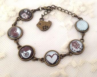 Pio-PIO cameo Bracelet.