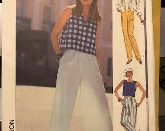 Vintage Simplicity pattern 7391 Misses' pants size 12 - uncut