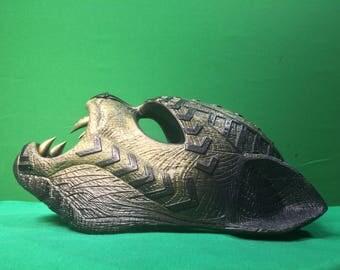 Golden Jaguary ceremony mask