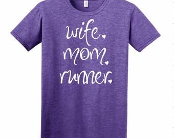 Wife.Mom.Runner. Shirt