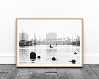 Marina Del Ray Print, California Print, Travel Print, Summer Print,