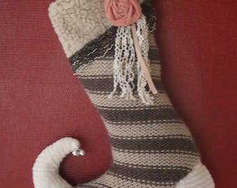Wool boots for a nice decoration