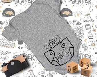 Baby Outfit/Poop There it is/ Baby Onesie/ Funny Baby Onesie/ Baby Girl Onesie/ Baby Boy Clothes/ Baby Shower Gift/ Baby Bodysuit