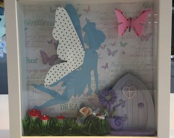 Enchanted fairy forest wall art