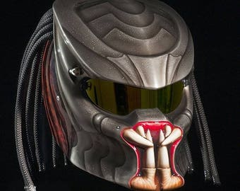 Custom Predator Real Motorcycle Helmet Options 2