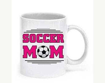 ON SALE: Soccer Mom Mugs - Soccer Mom - Soccee Mom Gifts - Soccee Mom Accessories