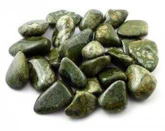Epidote Tumbled Stone | Tumbled Epidote Stone | Healing Stone | Feng Shui | Metaphysical | Altar Stone | Grid Stone |