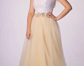 Evening, long dress. Long dress, evening dress, dress for girls, magnificent dress