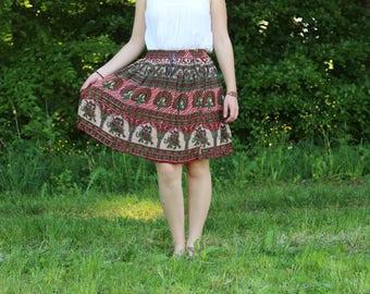 Skirt summer yoga hippie