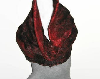 Womens Scarves Wool Shawl Spiderweb Scarf Wool Wrap Felted Scarf Felted Cobweb Winter Scarf Wool Scarf Scarf for Women Scarves and Wraps