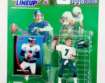 Starting Lineup 1998 NFL Bobby Hoying Action Figure Philadelphia Eagles