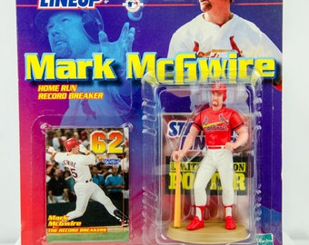 Starting Lineup MLB Home Run Record 62 Mark McGwire Figure St. Louis Cardinals